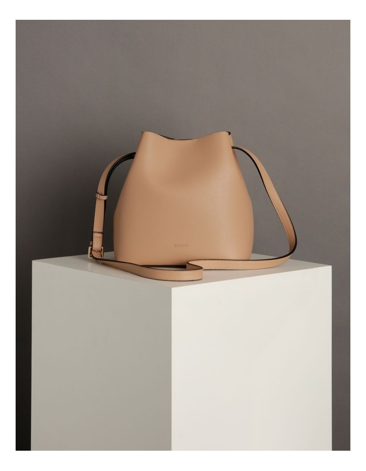 Erin Bucket Nude Shoulder Bag image 6