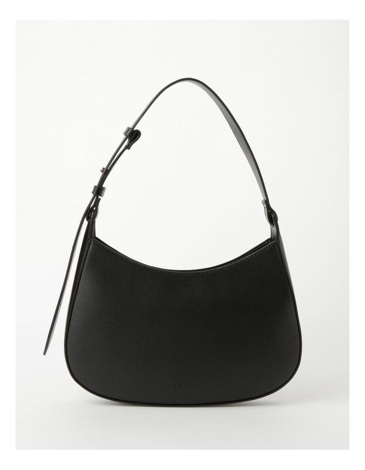Cara Baguette Black Shoulder Bag image 1