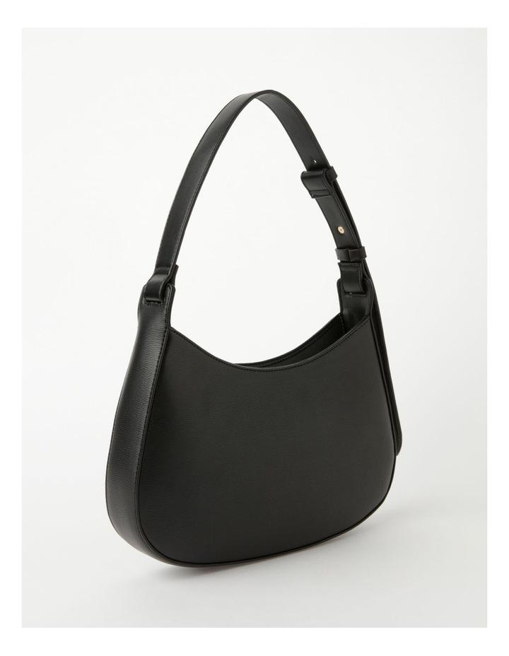 Cara Baguette Black Shoulder Bag image 2