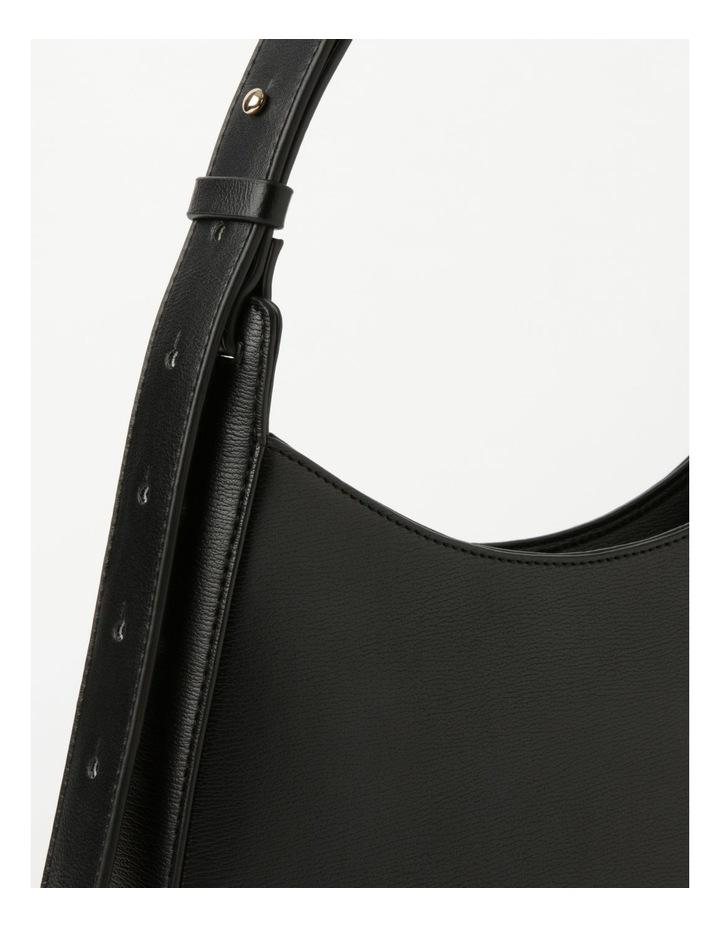 Cara Baguette Black Shoulder Bag image 3