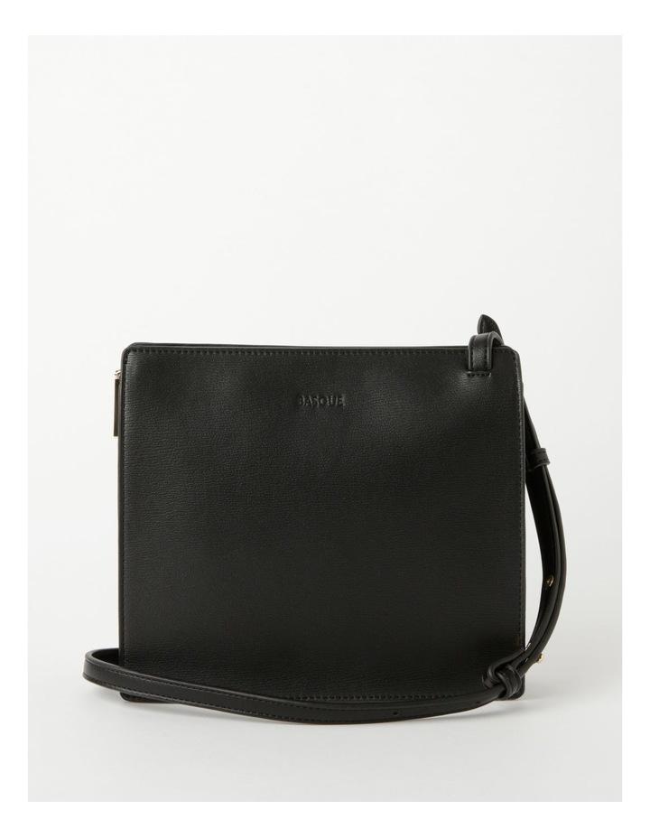 Cara Zip Top Black Crossbody Bag image 1