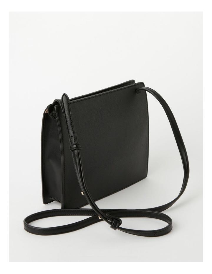 Cara Zip Top Black Crossbody Bag image 2