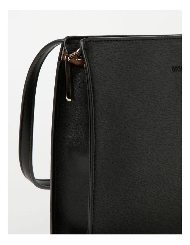Cara Zip Top Black Crossbody Bag image 3