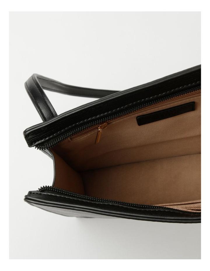 Cara Zip Top Black Crossbody Bag image 4
