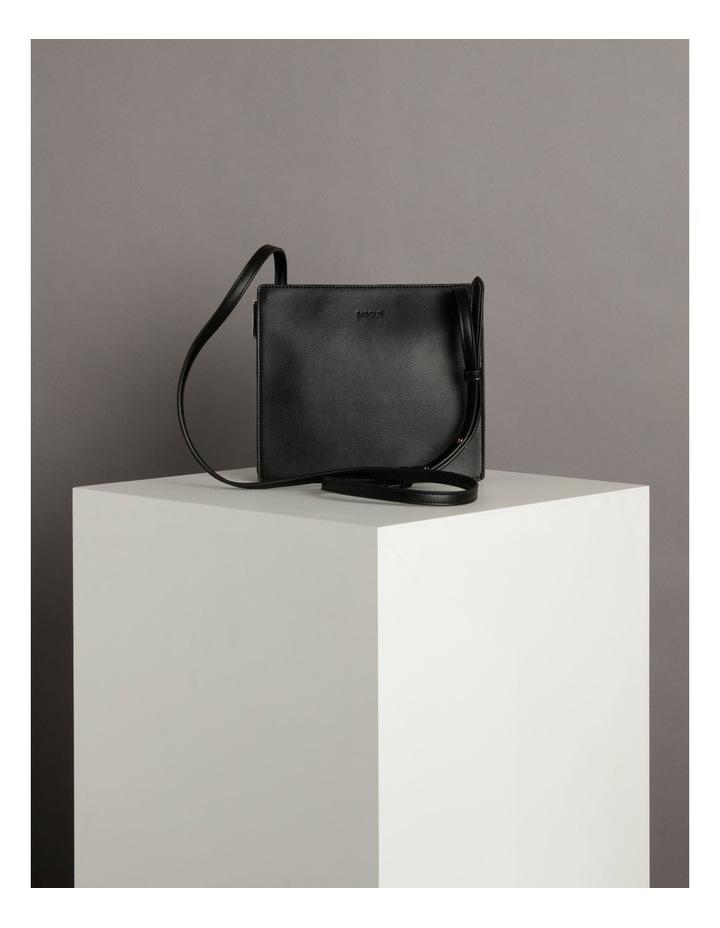 Cara Zip Top Black Crossbody Bag image 5