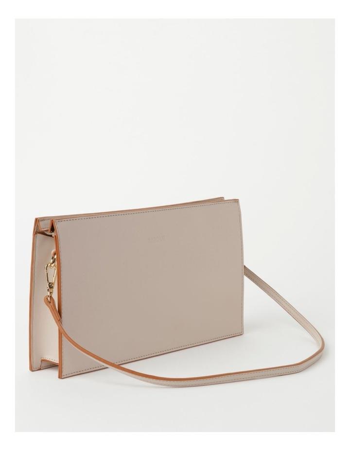 Cara Zip Top Stone Clutch Bag image 2
