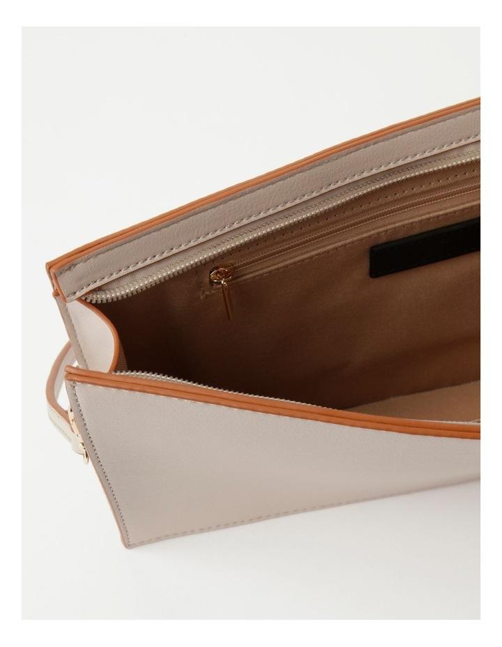 Cara Zip Top Stone Clutch Bag image 4