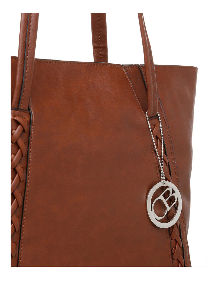 Chrysie Double Handle Tote Bag image 3