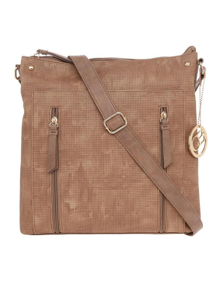 Wild Rose Zip Top Crossbody Bag image 1