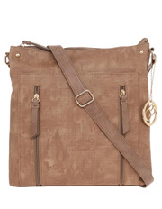 Charlie Brown - Wild Rose Zip Top Crossbody Bag