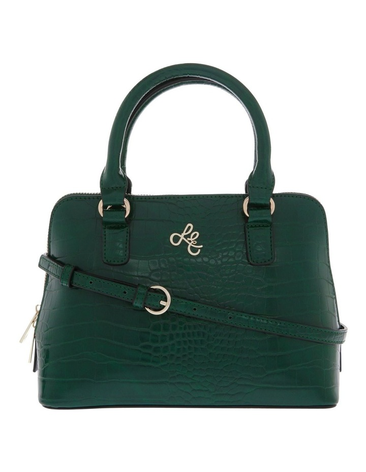 Mini Adore Double Handle Green Tote Bag image 1