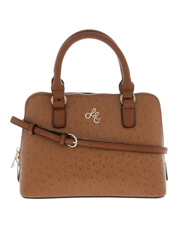 Mini Adore Double Handle Tan Tote Bag image 1