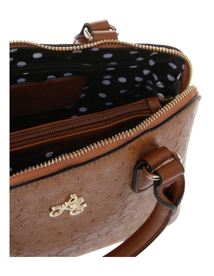 Mini Adore Double Handle Tan Tote Bag image 3