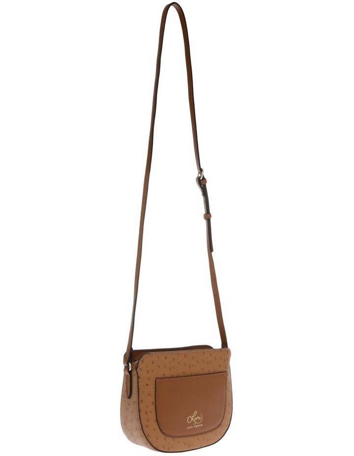 Embrace Zip Top Tan Crossbody Bag image 1
