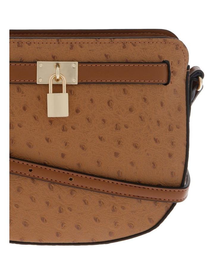 Embrace Zip Top Tan Crossbody Bag image 2