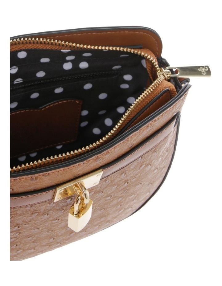 Embrace Zip Top Tan Crossbody Bag image 3