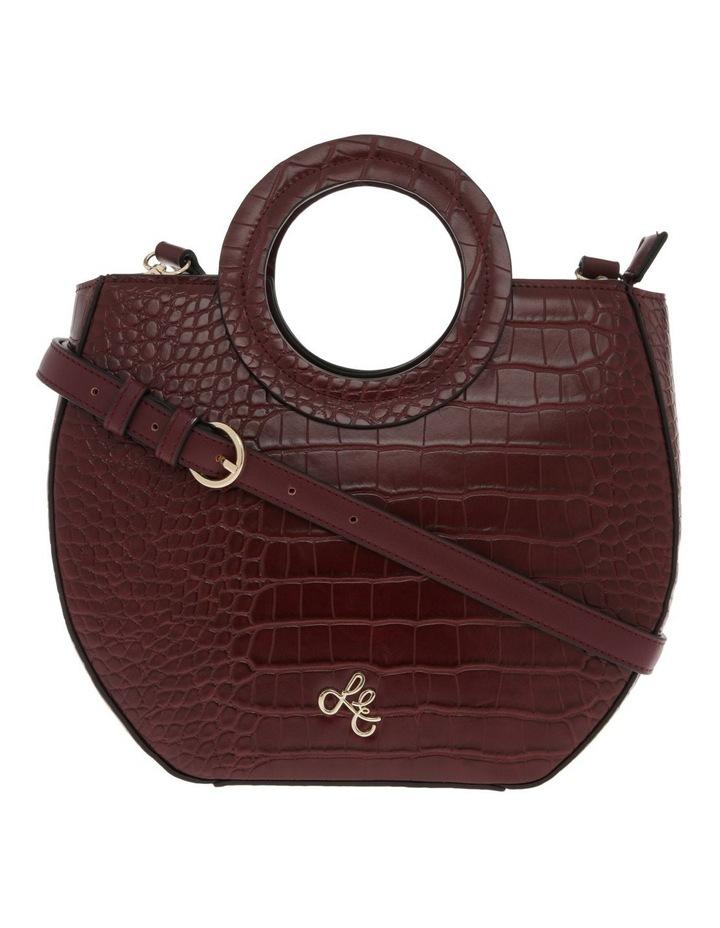 Bombshell Frame Burgundy Shoulder Bag image 1