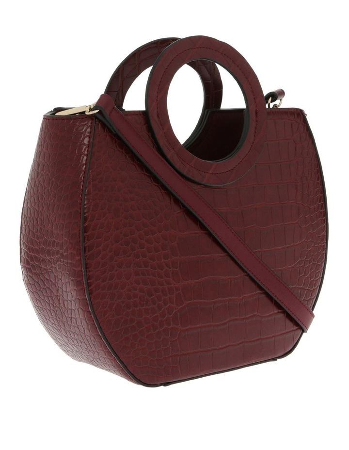 Bombshell Frame Burgundy Shoulder Bag image 2