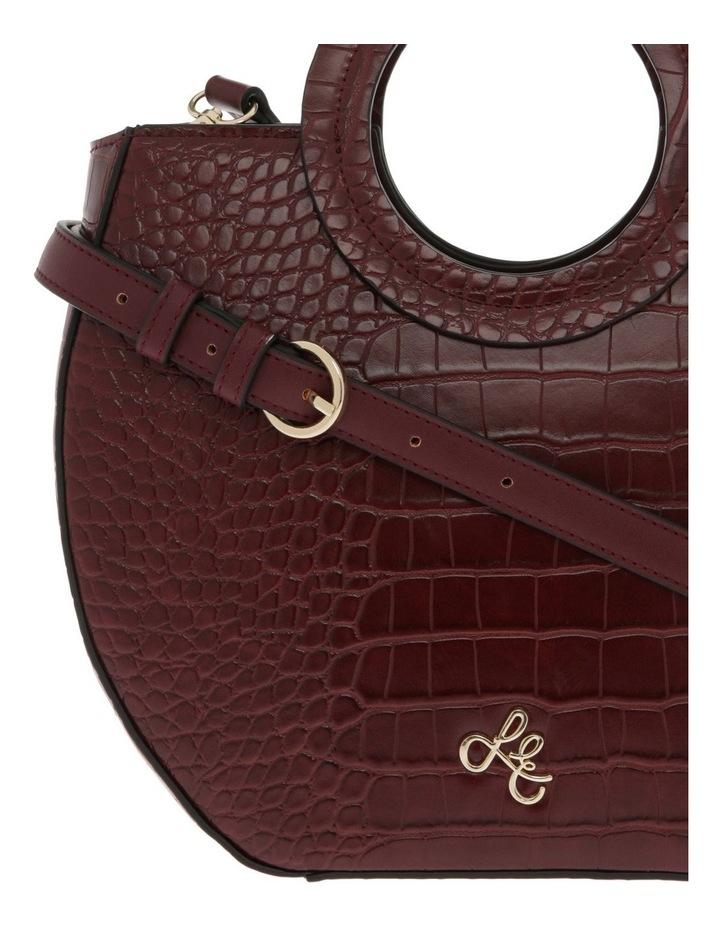 Bombshell Frame Burgundy Shoulder Bag image 3