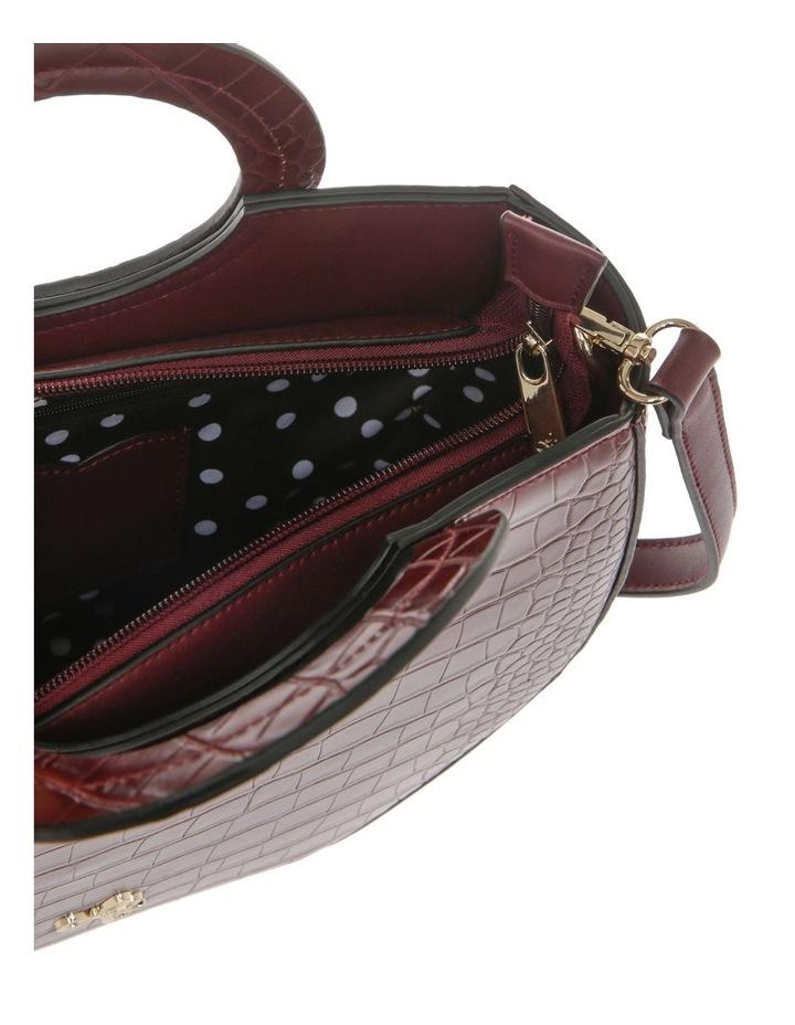 Bombshell Frame Burgundy Shoulder Bag image 4