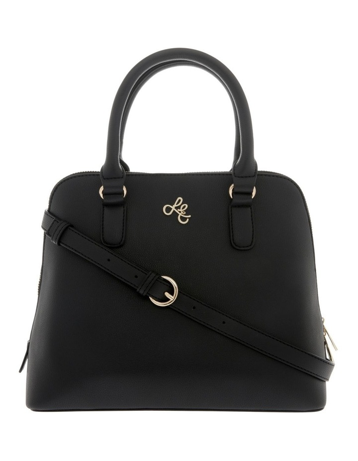 Adore Double Handle Black Tote Bag image 1