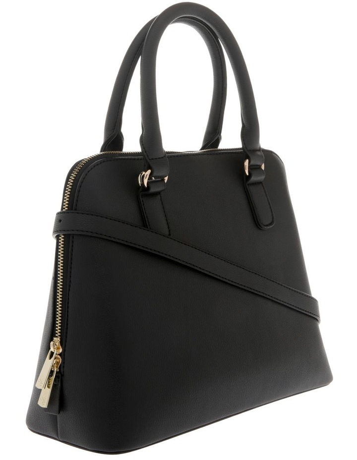 Adore Double Handle Black Tote Bag image 2