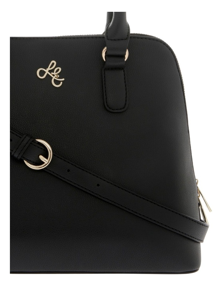 Adore Double Handle Black Tote Bag image 3