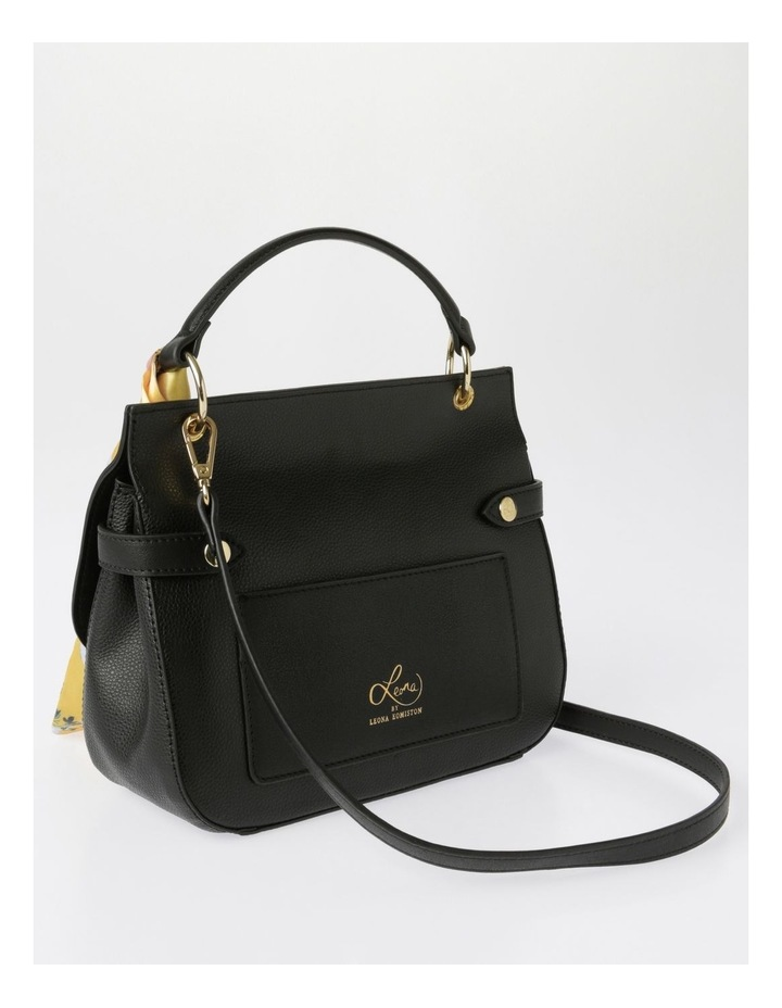 Kiss Me Satchel Satchel in Black image 2