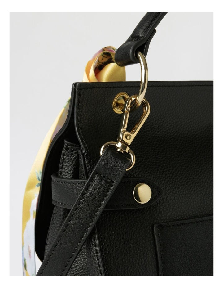 Kiss Me Satchel Satchel in Black image 4