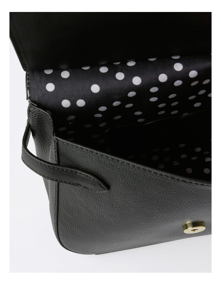 Kiss Me Satchel Satchel in Black image 5