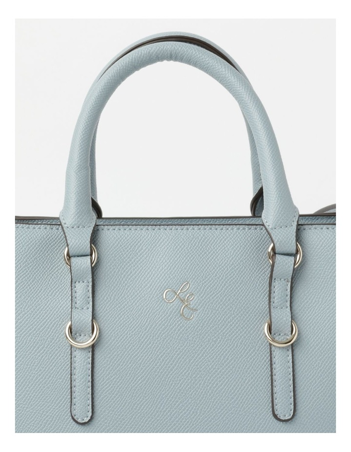 'Love Is' Pale Blue Tote image 3