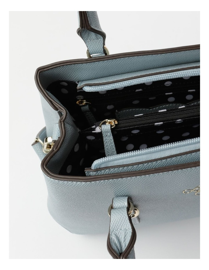 'Love Is' Pale Blue Tote image 4