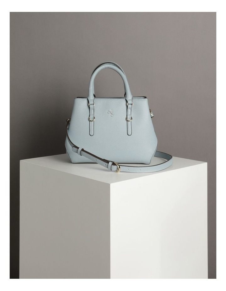 'Love Is' Pale Blue Tote image 5