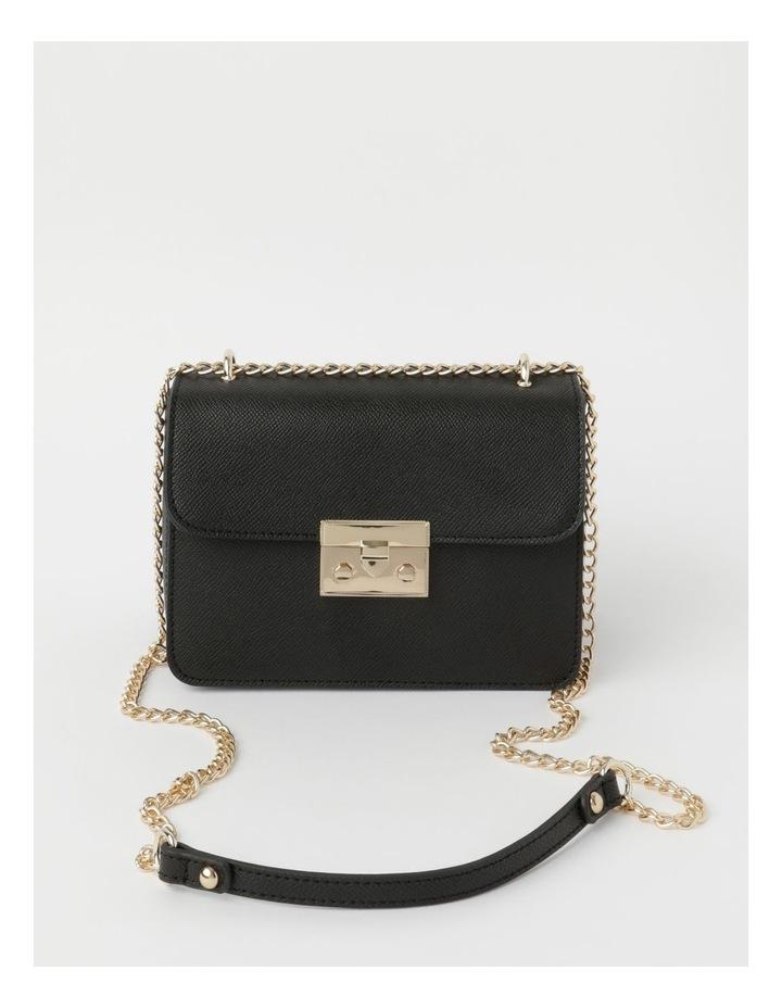 'Love Is' Black Crossbody Bag image 1
