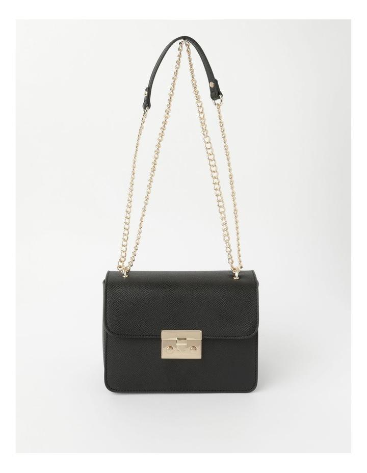 'Love Is' Black Crossbody Bag image 2