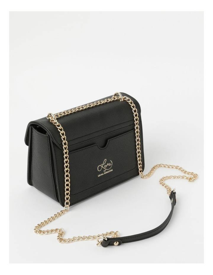 'Love Is' Black Crossbody Bag image 3