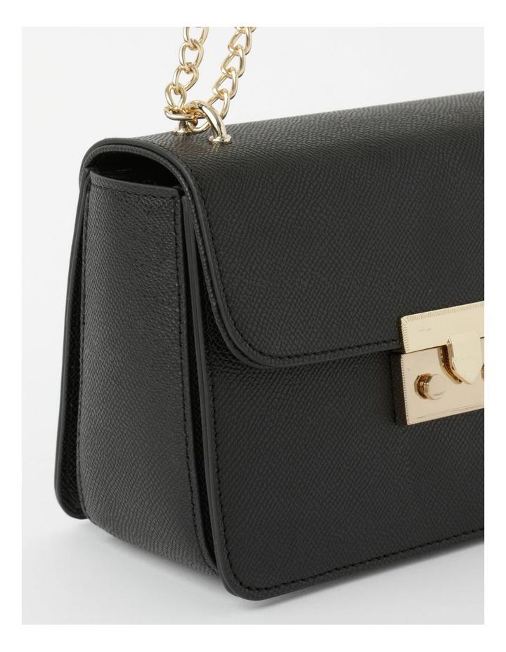 'Love Is' Black Crossbody Bag image 4