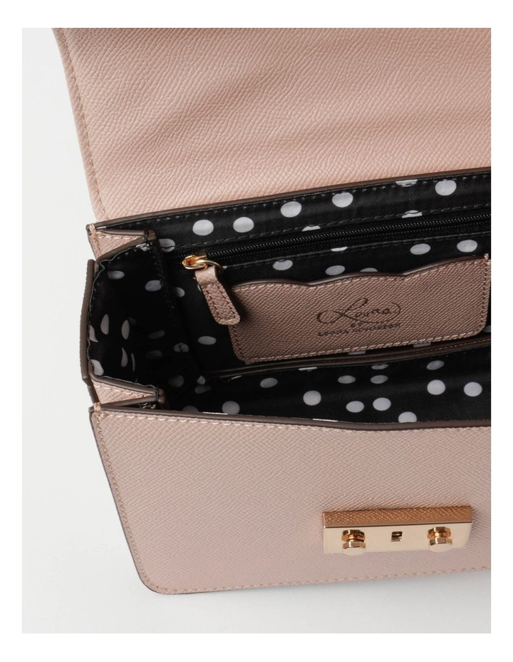 'Love Is' Blush Crossbody Bag image 5