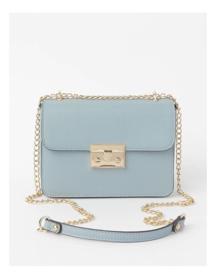 'Love Is' Pale Blue Crossbody Bag image 1