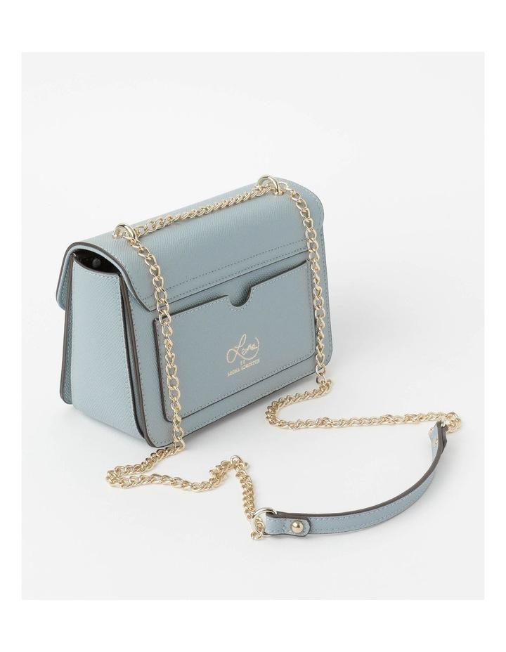 'Love Is' Pale Blue Crossbody Bag image 3