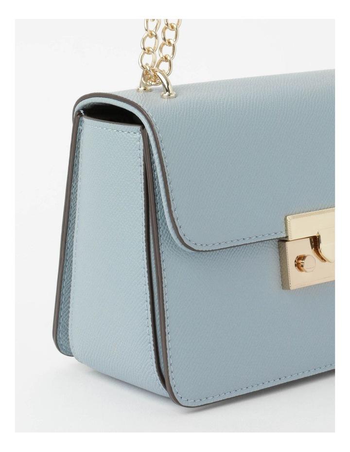 'Love Is' Pale Blue Crossbody Bag image 4