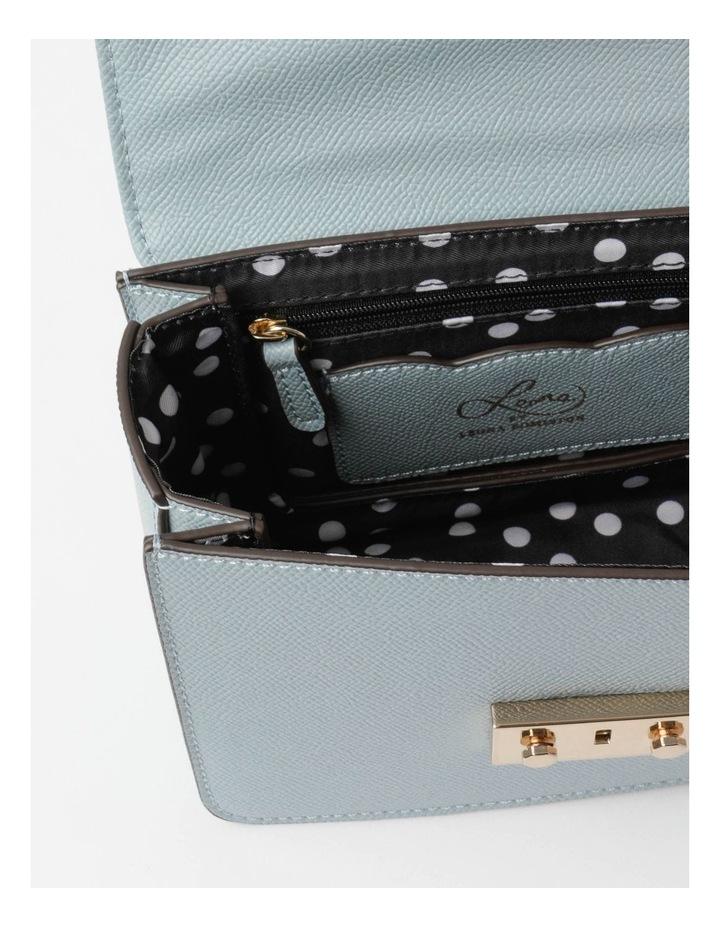 'Love Is' Pale Blue Crossbody Bag image 5