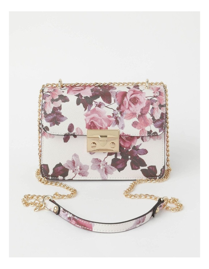 'Love Is' Floral Crossbody Bag image 1