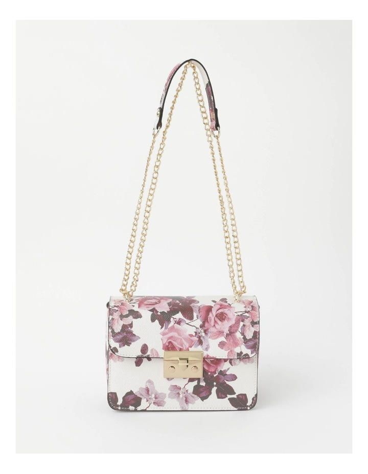 'Love Is' Floral Crossbody Bag image 2
