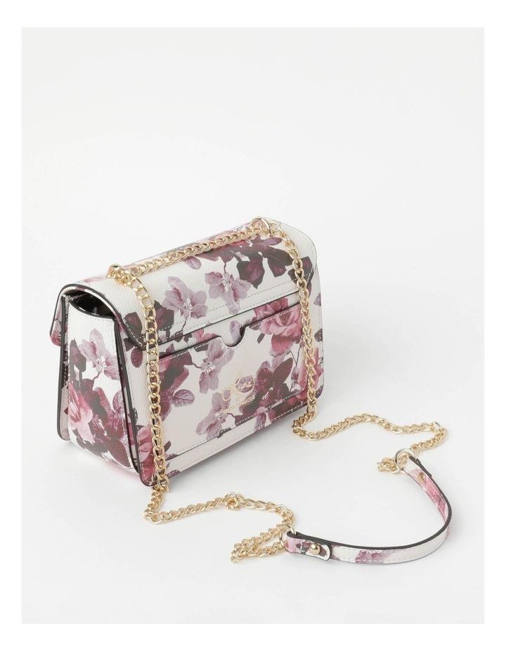'Love Is' Floral Crossbody Bag image 3