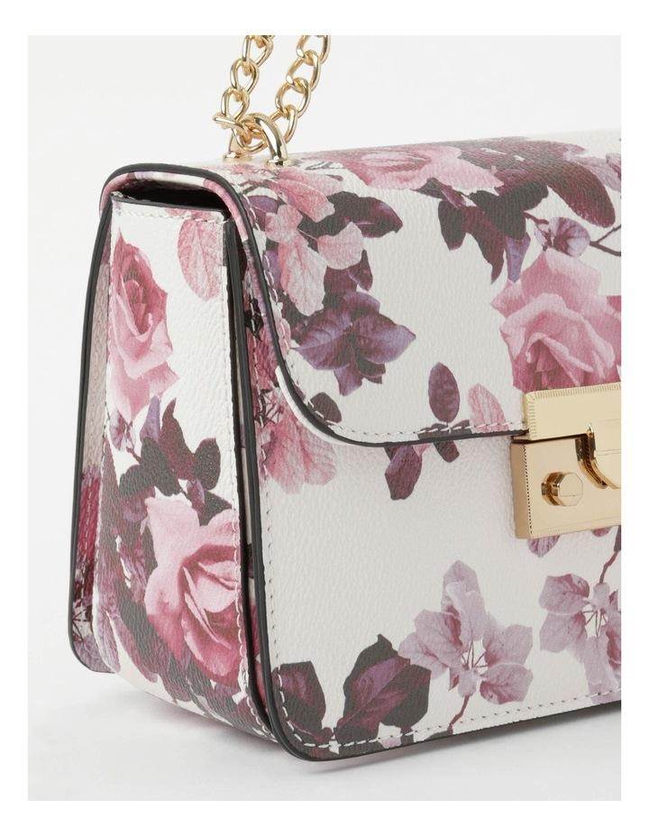 'Love Is' Floral Crossbody Bag image 4
