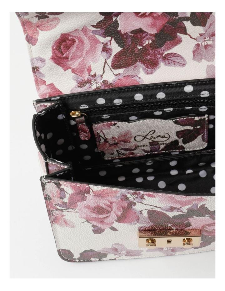 'Love Is' Floral Crossbody Bag image 5