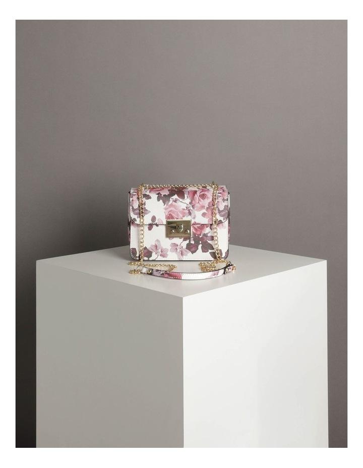 'Love Is' Floral Crossbody Bag image 6