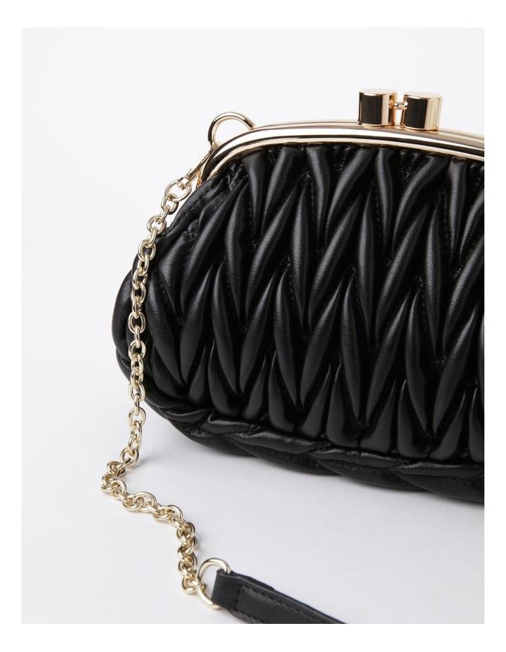 My Forever Black Frame Clutch Bag image 3