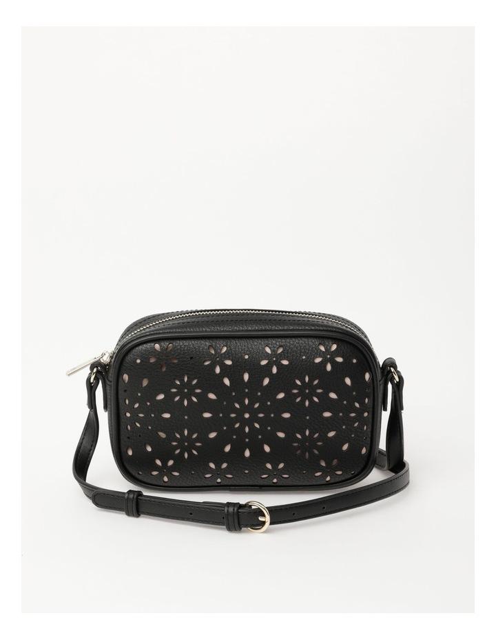 Bliss Black Camera Crossbody Bag image 1